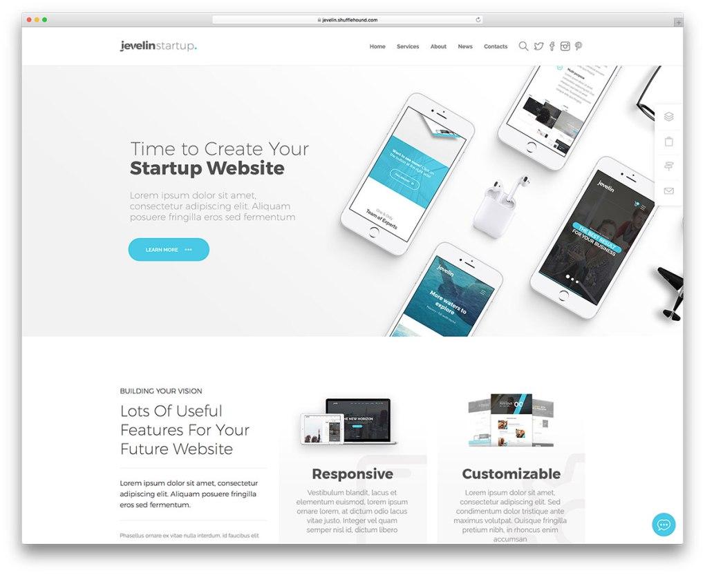 Thèmes WordPress marketing