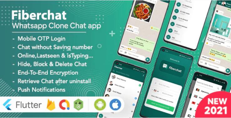 Whatsapp Clone full App | Flutter Chat app Android & iOS Script Advisor