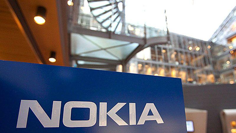 Edificio con cartel de Nokia