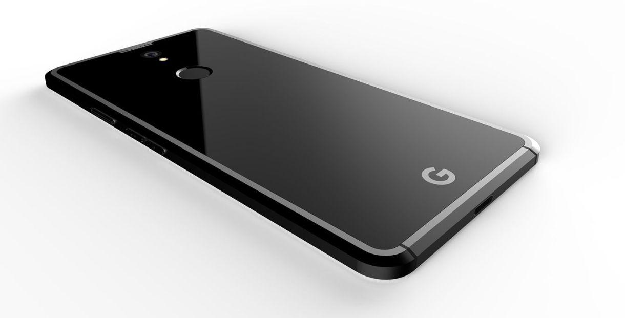 Google Pixel 2 Concepto