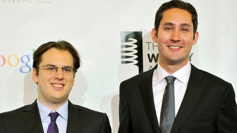 Instagram Kevin Systrom y Mike Krieger