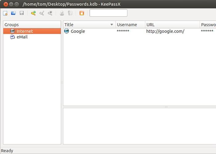 KeePass Ubuntu
