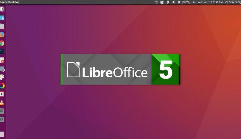 Linux Ubuntu LibreOffice