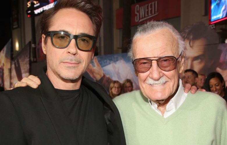 Stan Lee y Robert Downey Junior