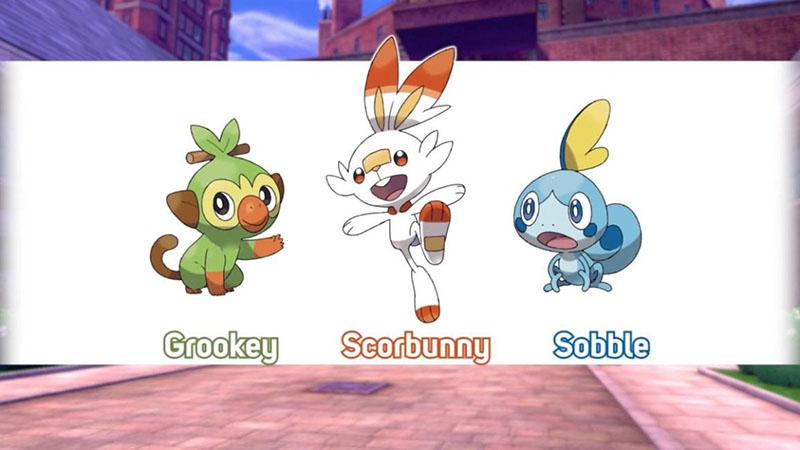 Iniciales Pokémon Espada y Escudo