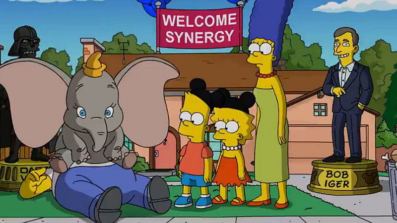 Los Simpsons Disney