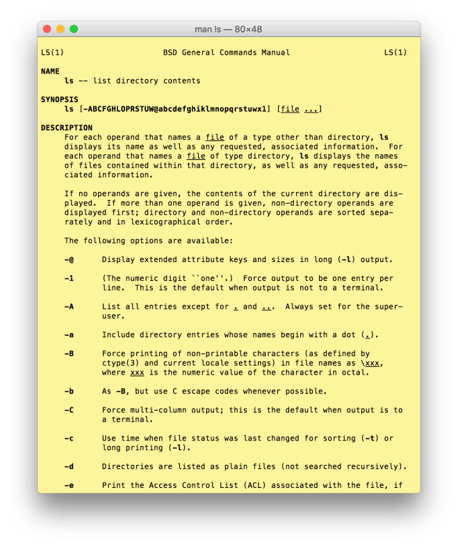 The beautiful yellow x-man-page window