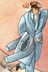 Alain Millerand (1953- ). La elegancia del hombre galante.