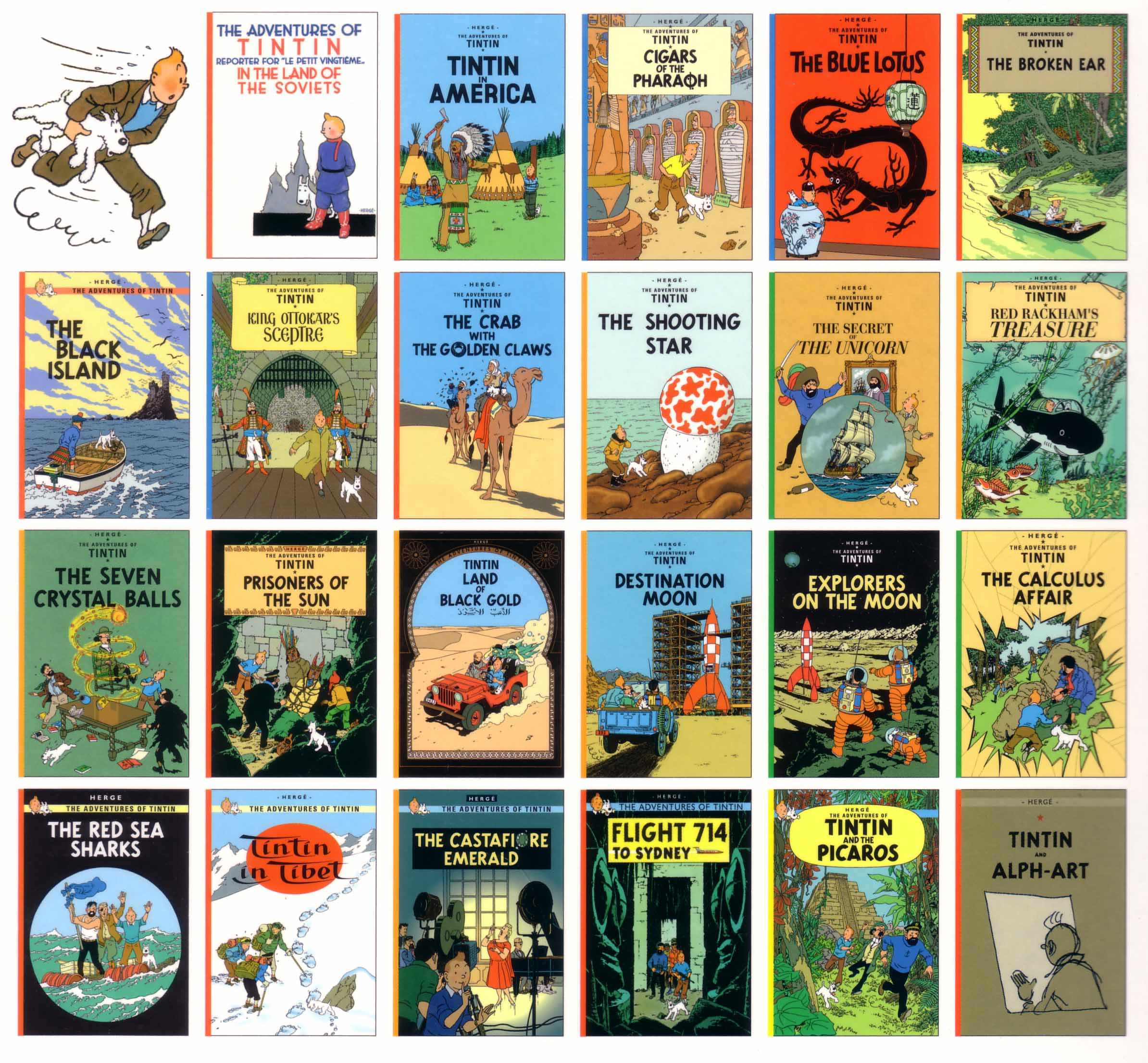 Image result for tintin comic books