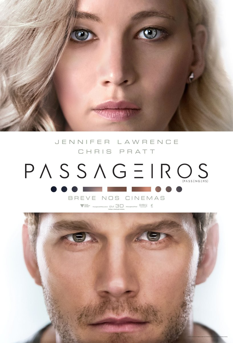 Pôster brasileiro oficial do filme.