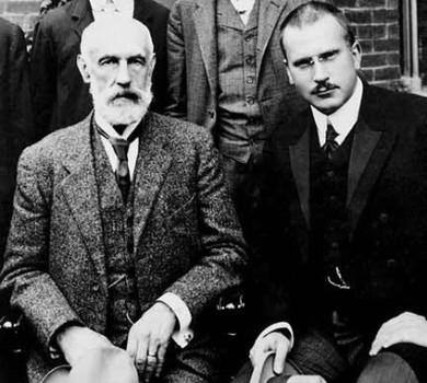 Sigmund Freud e Carl G. Jung.