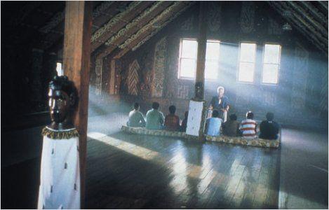 Escola onde Koro ensinava as tradições para os meninos.