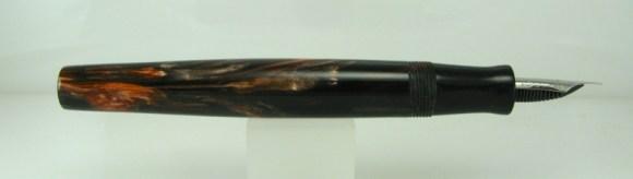 Scrivener in Black and Tan alumilite - 6
