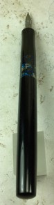 Epic Dip Pen in Tibaldi Impero Celluloid & Black Japanese Ebonite