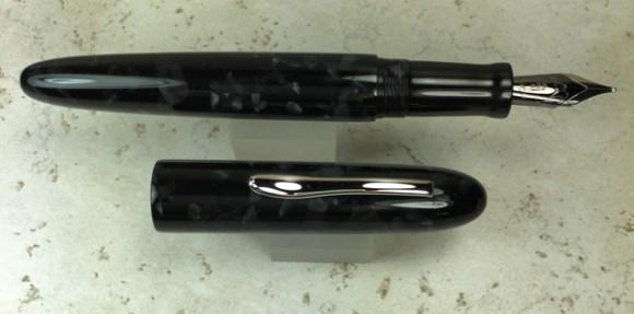 Custom Pen in CS Graphite & Black Ebonite