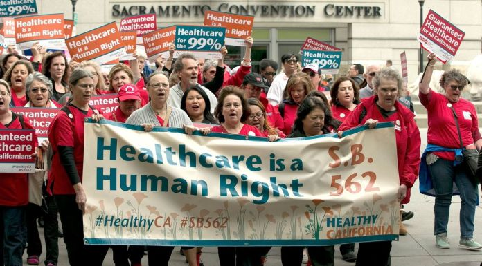 CA SB562 Demonstrators