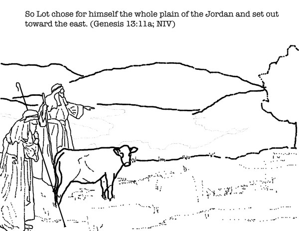 abraham and his guests sunday school # 19