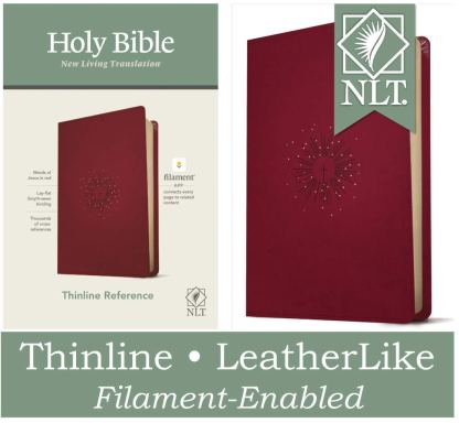 NLT Large Print Thinline Reference Holy Bible