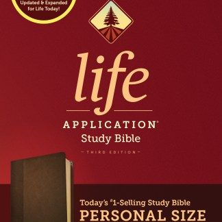 NIV Life Application Study Bible Personal Brown