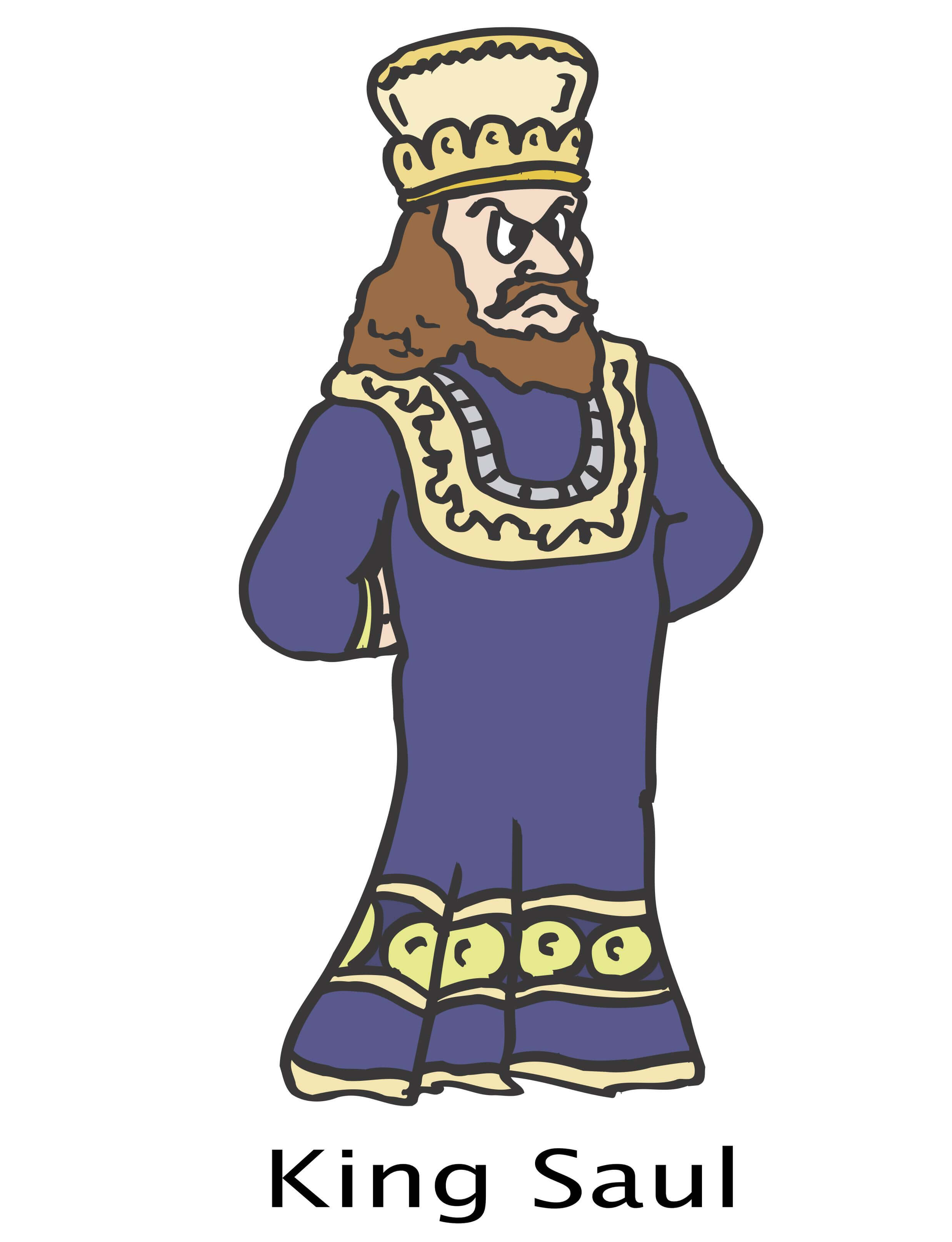 King David And King Saul Clip Art Cliparts