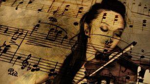 La Metamorfosi: Grete suona il violino e Gregor meravigliato esce dalla sua stanza