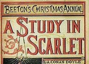 uno studio in rosso viene pubblicato per la prima volta sulla rivista Beetons Christmas Annual