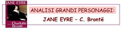 ANALISI GRANDI PERSONAGGI - JANE EYRE