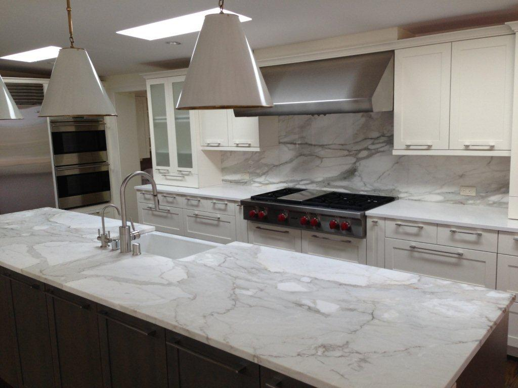 Examples of Our Work - Scrivanich Natural Stone on Granite Stove Backsplash  id=76162