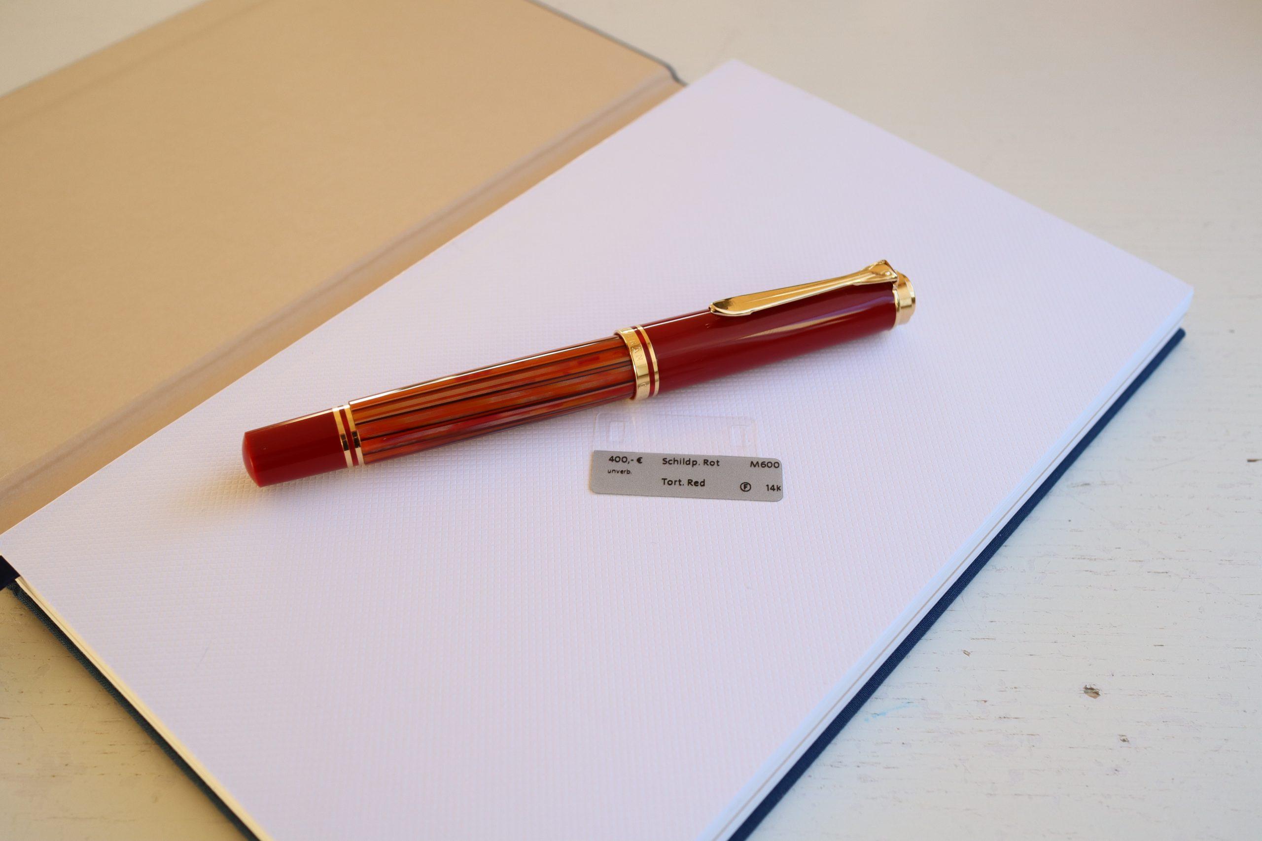 Pelikan M600 Tortoiseshell-Red
