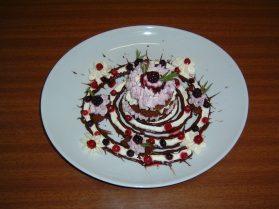 Un'altra immagine del dessert della classe II C