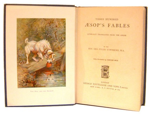 aesop_fables_rare_book_0