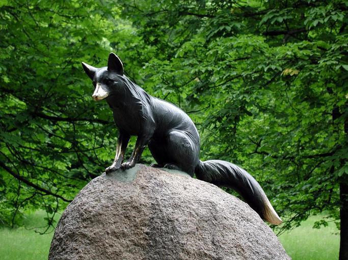 statue_fox
