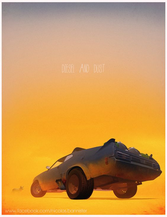 » Posters of Famous Vehicles in TV, Movies and Videogames | Nicolas Bannister:
