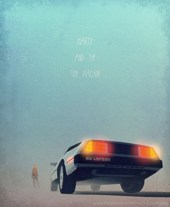 Nicolas Bannister Back to the-Future #movies #movieposters #posters: