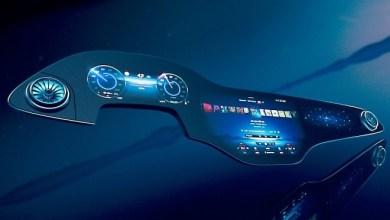 """Photo of Mercedes-Benz-მა შეიმუშავა """"ჰიპერეკრანი"""" ელექტრომობილების მონაცემთა დაფის ჩასანაცვლებლად"""