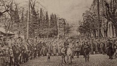 წითელი არმია თბილისში, 1921 წლის 25 თებერვალი - Red Army in Tbilisi, 25 February. 1921