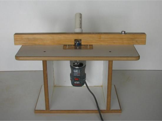 DIY router table for smaller routers - for Cutting Cathy - Scroll Saw ...
