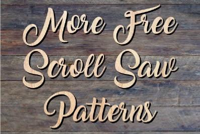 free scroll saw patterns steve good