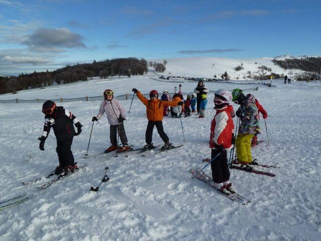 Première sortie de l'école de ski au MARKSTEIN - Saison 2013 - 2014