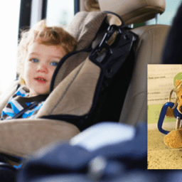 'Backseat Buddy' helps remind parents not to leave young children in the car