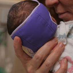 New gel cap used in the NICU to help prevent 'flat head syndrome'