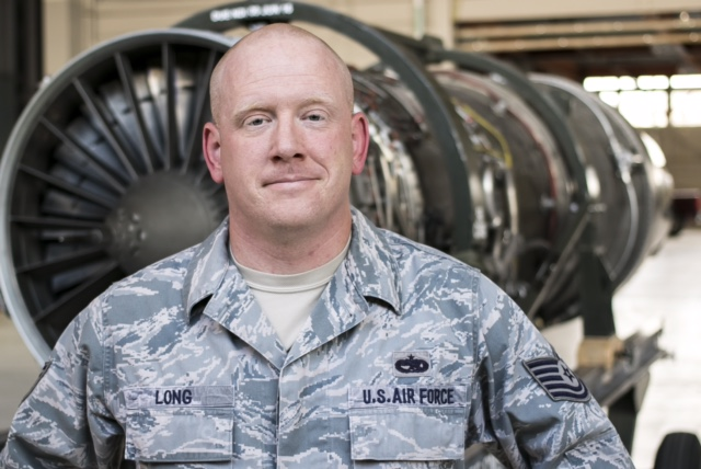 David Long, 38-year-old jet mechanic in the U.S. Air Force
