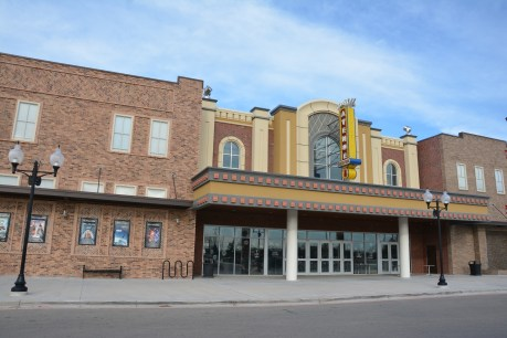 Grand Avenue Theater in nearby Belton, Texas held a private showing of Star Wars The Force Awakens for an 11-year-old McLane Children's Hospital patient, Luke Edmunds.