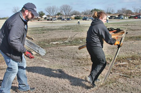Hospital Emergency Response Team aids their fellow colleagues in tornado relief efforts.