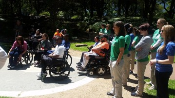 Walk and Roll with Walk With a Doc event at Baylor Institute for Rehabilitation - Dallas