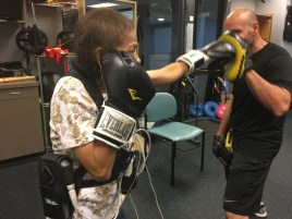 boxing patient cardiac rehab