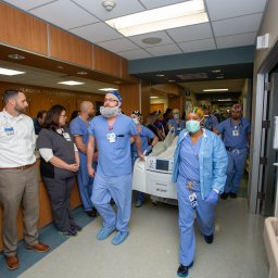 "Hospital staff honors 21-year-old organ donor in moving ""Walk of Respect"""