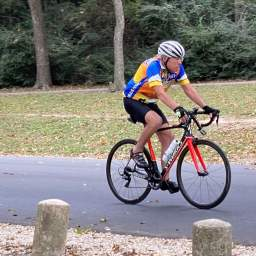 After major stroke, cyclist grateful to be back on the bike