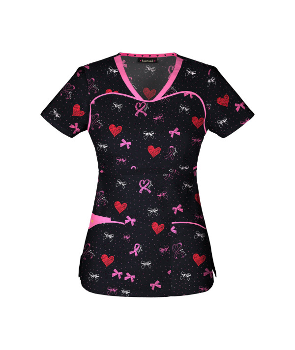Top 10 Heart Scrubs Tops For Valentines Day Scrubs