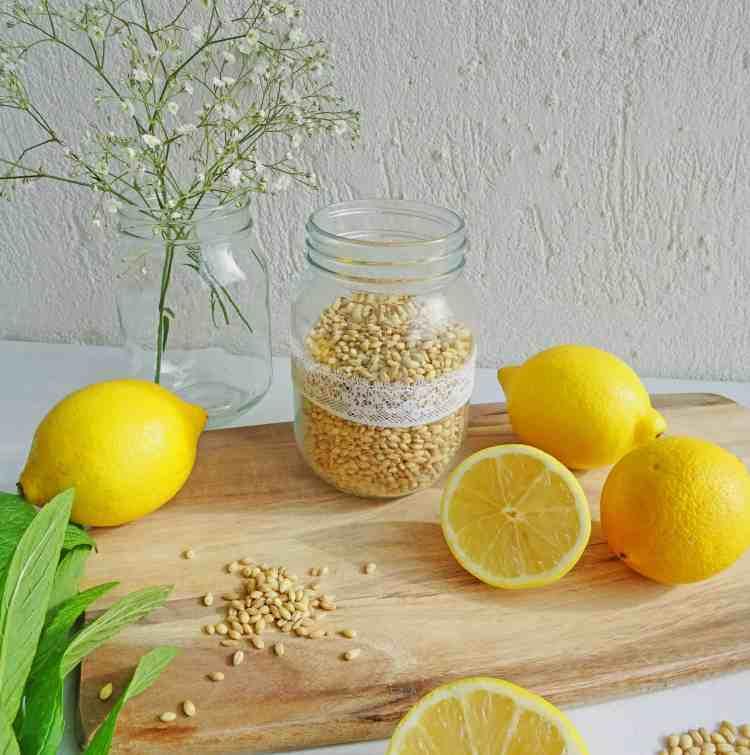 Lemon Barley water 3